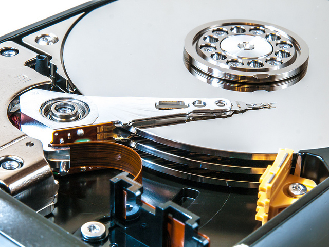 Glave na hard disku