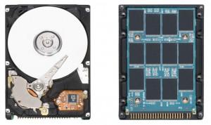 Pogled iznutra u hard disk i SSD
